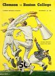 Boston College vs Clemson (11/5/1949) by Clemson University