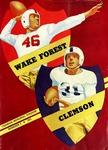 Wake Forest vs Clemson (11/3/1951) by Clemson University