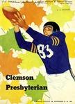 Presbyterian vs Clemson (9/20/1952)