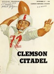 Citadel vs Clemson (11/27/1954)