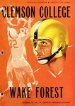 Wake Forest vs Clemson (10/29/1955)