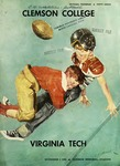 Virgina Tech vs Clemson (11/3/1956)