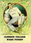Wake Forest vs Clemson (11/23/1957)