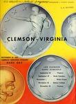 Virgina vs Clemson (9/20/1958)
