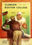 Boston College vs Clemson (11/22/1958)