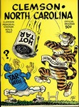 North Carolina vs Clemson (11/5/1960)