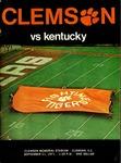 Kentucky vs Clemson (9/11/1971)
