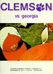 Georgia vs Clemson (9/25/1971)