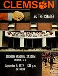 Citadel vs Clemson (9/9/1972)