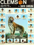 South Carolina vs Clemson (11/25/1972)