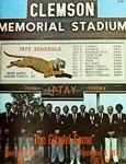 Citadel vs Clemson (9/8/1973)