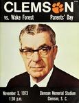 Wake Forest vs Clemson (11/3/1973)