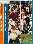 Tulane vs Clemson (9/13/1975)