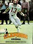 Virginia vs Clemson (10/6/1979)