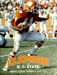 NC State vs Clemson (10/27/1979)