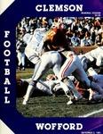 Wofford vs Clemson (9/5/1981)