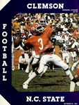 NC State vs Clemson (10/24/1981)