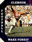 Wake Forest vs Clemson (10/31/1981)