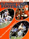 Boston College vs Clemson (9/18/1982)