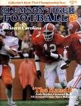 Western Carolina vs Clemson (9/25/1982)