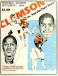 Appalachian State vs Clemson (9/1/1984) by Clemson University