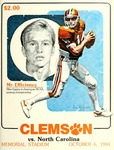 North Carolina vs Clemson (10/6/1984)