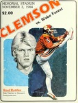Wake Forest vs Clemson (11/3/1984)