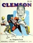 Virginia Tech vs Clemson (11/10/1984)