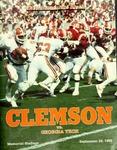 Georgia Tech vs Clemson (9/28/1985) by Clemson University
