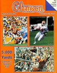 South Carolina vs Clemson (11/22/1986)