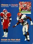 Georgia vs Clemson (10/6/1990)