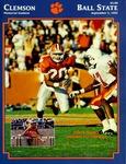 Ball State vs Clemson (9/5/1992)
