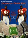Florida State vs Clemson (9/12/1992)
