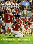 Maryland vs Clemson (10/1/1994) by Clemson University