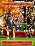 Wake Forest vs Clemson (10/29/1994) by Clemson University