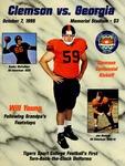 Georgia vs Clemson (10/7/1995)