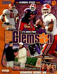 Florida State vs Clemson (11/12/2005)