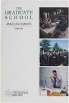 Clemson Graduate School Catalog, 1988-1989