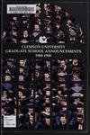 Clemson Graduate School Catalog, 1989-1990