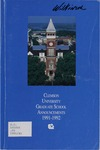 Clemson Graduate School Catalog, 1991-1992 by Clemson University