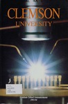 Clemson Graduate School Catalog, 1993-1994 by Clemson University