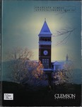 Clemson Graduate School Catalog, 1998-1999 by Clemson University