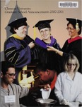 Clemson Graduate School Catalog, 2000-2001 by Clemson University