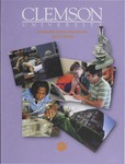 Clemson Graduate School Catalog, 2007-2008 by Clemson University