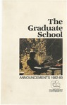 Clemson Graduate School Catalog, 1982-1983 by Clemson University
