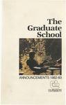 Clemson Graduate School Catalog, 1982-1983