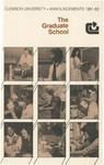 Clemson Graduate School Catalog, 1981-1982