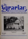 The Agrarian Vol. 1 No. 1 by Clemson University