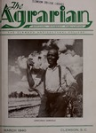 The Agrarian Vol. 2 No. 2 by Clemson University