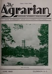 The Agrarian Vol. 2 No. 3 by Clemson University